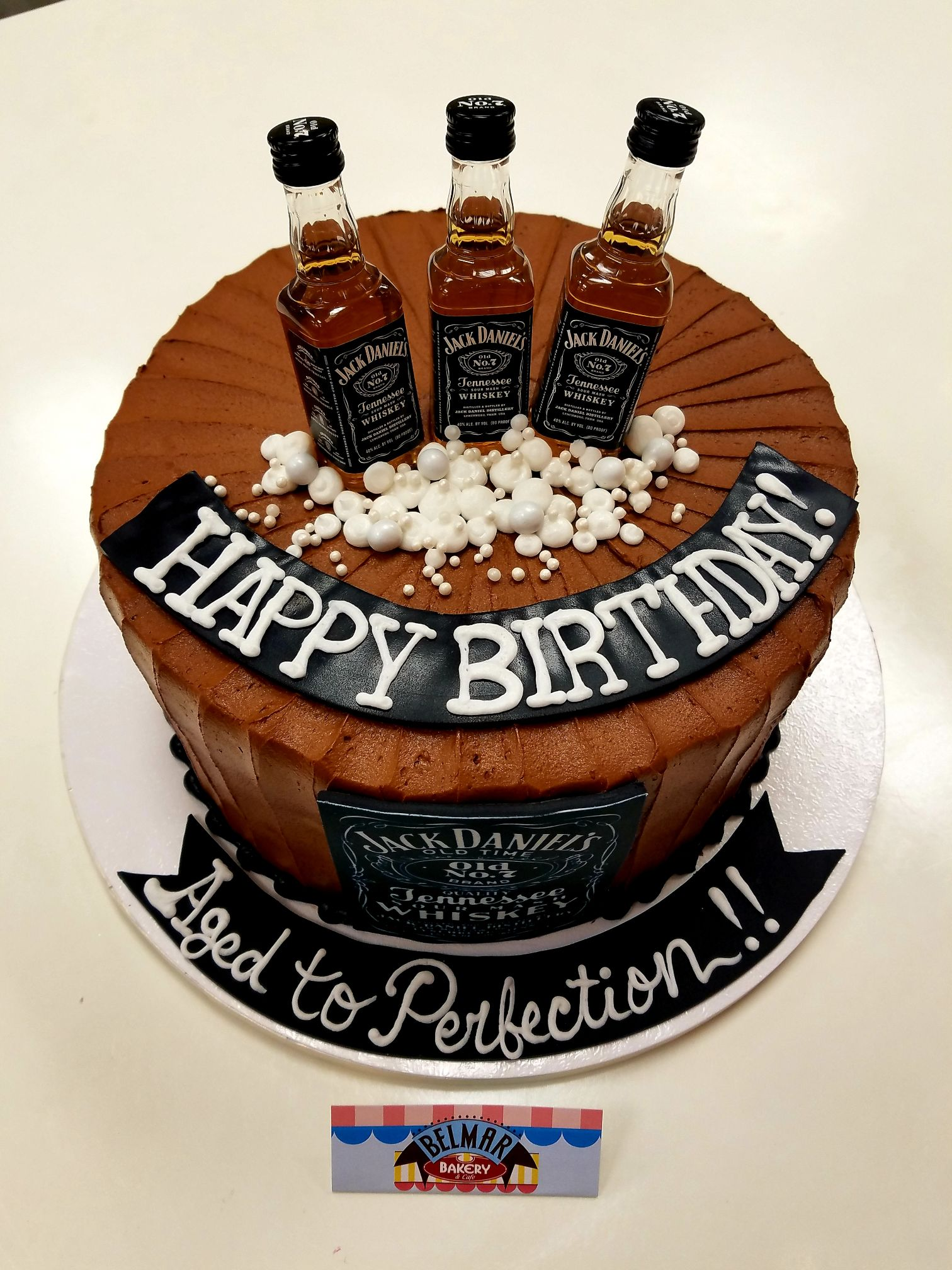 Fantastic Jack Daniels Birthday Belmar Bakery Personalised Birthday Cards Paralily Jamesorg