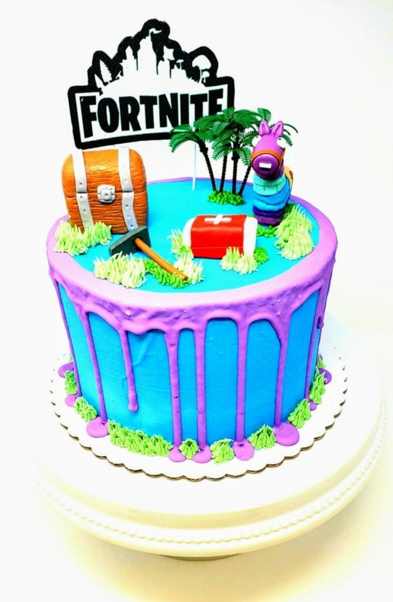 Fortnite Celebration Belmar Bakery See more ideas about fortnite, cakes for boys, boy birthday cake. fortnite celebration